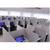 espaço de telemarketing completo