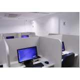 espaço de telemarketing equipados