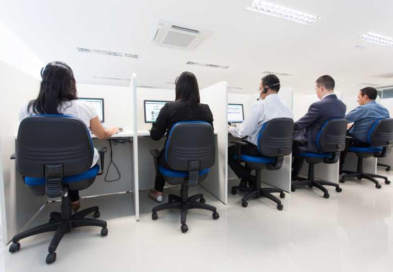 Locação com Estrutura de Call Center Preço em Santana - Locação com Estrutura de Call Center