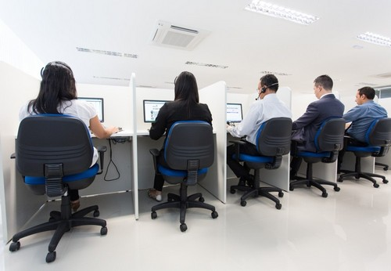 Locação para Call Center em Sp Preço no Tucuruvi - Locação de Estrutura de Call Center