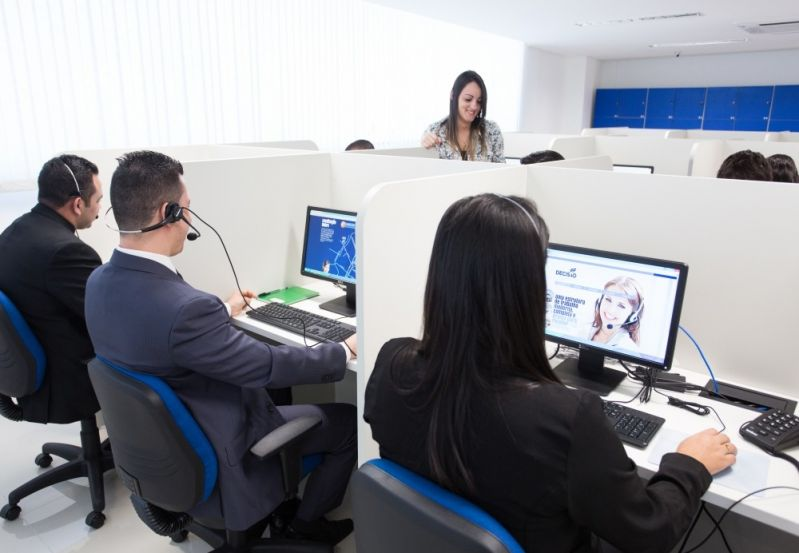 Locar Estrutura para Call Center