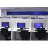 espaços de telemarketing com internet na Vila Gustavo