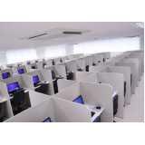 espaço de telemarketing para empresa de telefone